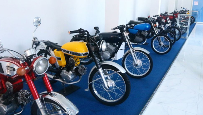 Classic Motorcycle Museum in Malang